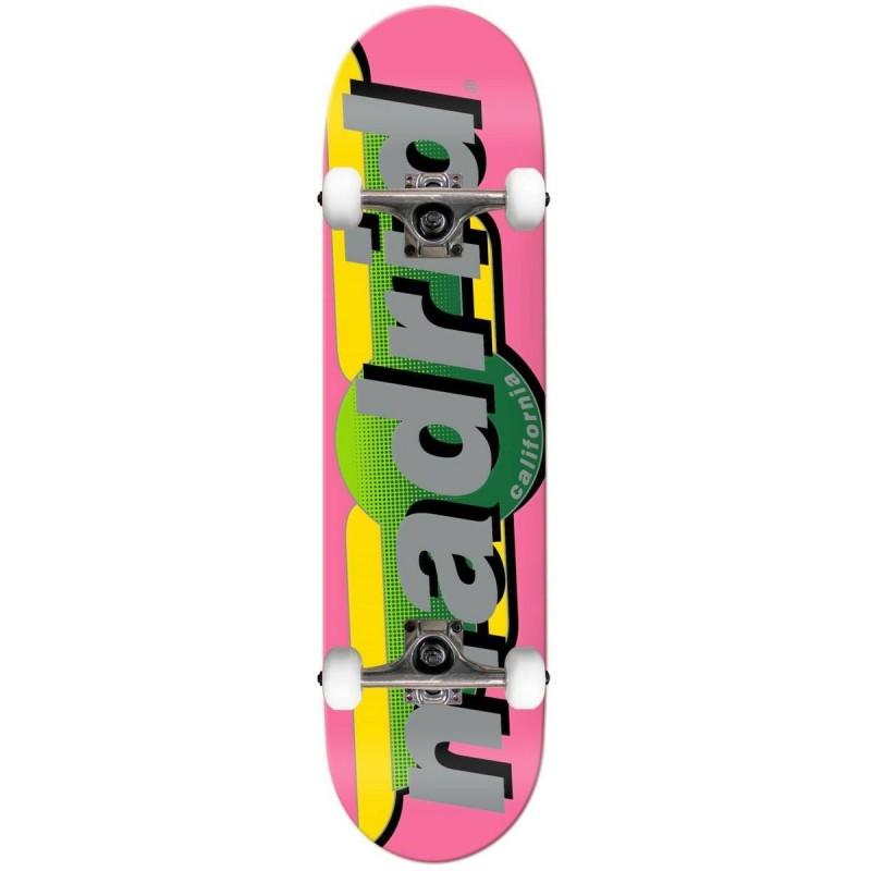 "Skateboard MADRID 7.5"" | PINK"