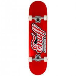 "Skateboard ENUFF Classic Logo Mini 7.25"" | 75cm | RED"