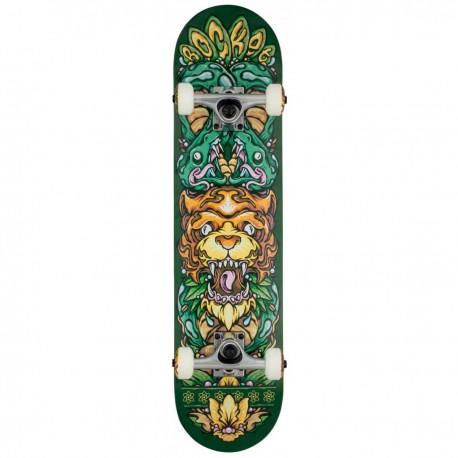"Skateboard ROCKET Wild Pile-up 7.5"" | GREEN"