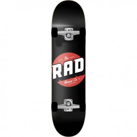 """Skateboard RAD Logo Progressive 8.125""""   BLACK"""