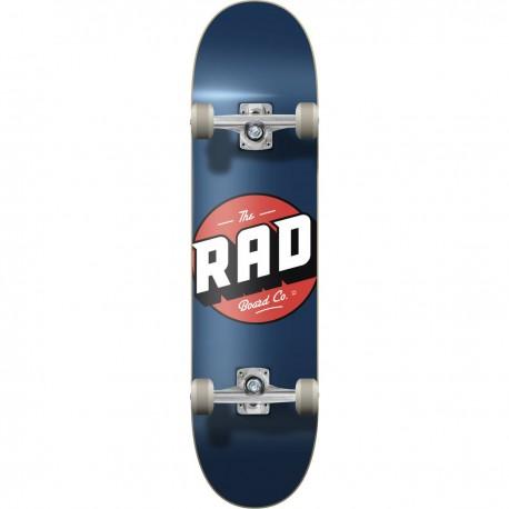 "Skateboard RAD Logo Progressive 7.75"" | NAVY"