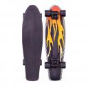 "Nickelboard PENNY AUSTRALIA Cruiser 22"" Flame | 57cm | BLACK-YELLOW"