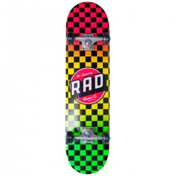 "Skateboard RAD Checkers Progressive 8"" | RASTA"