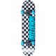 "Skateboard SPEED DEMONS Checkers 7.75""   BLUE"