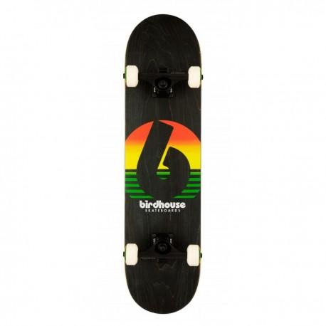 """Skateboard BIRDHOUSE Stage 3 Sunset   31x7.75""""   RASTA"""