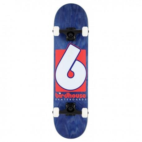 "Skateboard BIRDHOUSE Stage 3 B Logo   31x7.75""   NAVY-RED"