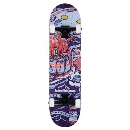 "Skateboard BIRDHOUSE Stage 3 Armanto Favorites | 31x7.75"" | PURPLE"