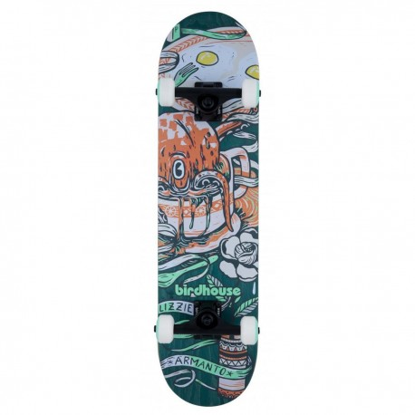 "Skateboard BIRDHOUSE Stage 3 Armanto Favorites   31x7.75""   GREEN"