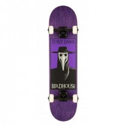 "Skateboard BIRDHOUSE Stage 3 Plague Doctor | 31x7.5"" | PURPLE"