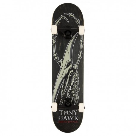 "Skateboard BIRDHOUSE Stage 3 Hawk Pterodactyl   31x7.5""   BLACK"