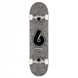 "Skateboard BIRDHOUSE Stage 1 Vertigo Logo | 31x7.75"" | BLACK-WHITE"