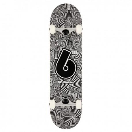 "Skateboard BIRDHOUSE Stage 1 Vertigo Logo   31x7.75""   BLACK-WHITE"