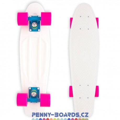 "Pennyboard MILLER Baby Miller Original Fluor White penny board 22,5""|57cm"