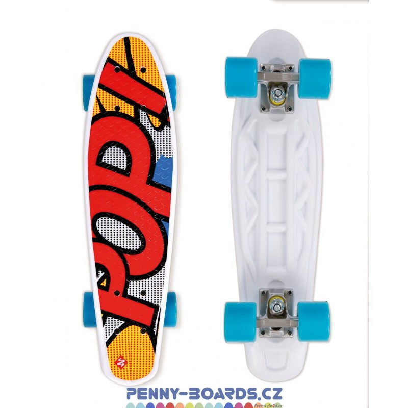 Pennyboard STREET SURFING POP POPSI YELLOW board 22"