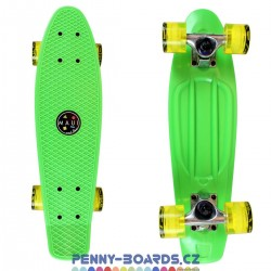 Pennyboard MAUI AND SONS StreetShark Zelený (Green) 22"