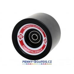Kolečka pro longboard STREET SURFING|ABEC-7|4ks|BLACK