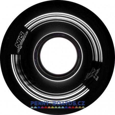 Kolečka pro pennyboard NILS EXTREME 60x45mm|4ks| BLACK