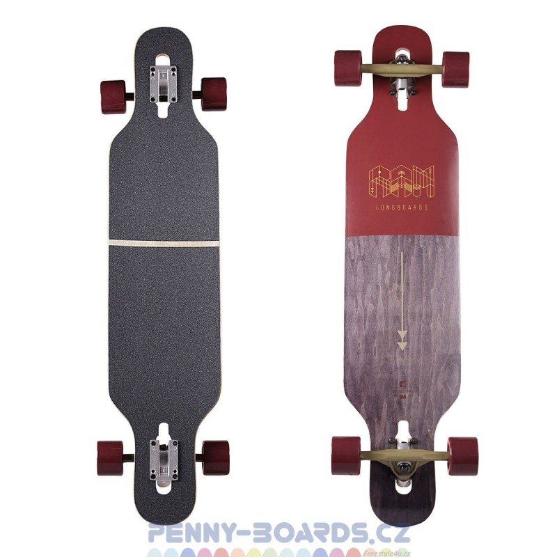 "Longboard RAM Ciemah Rosewood DT 39""|99cm"