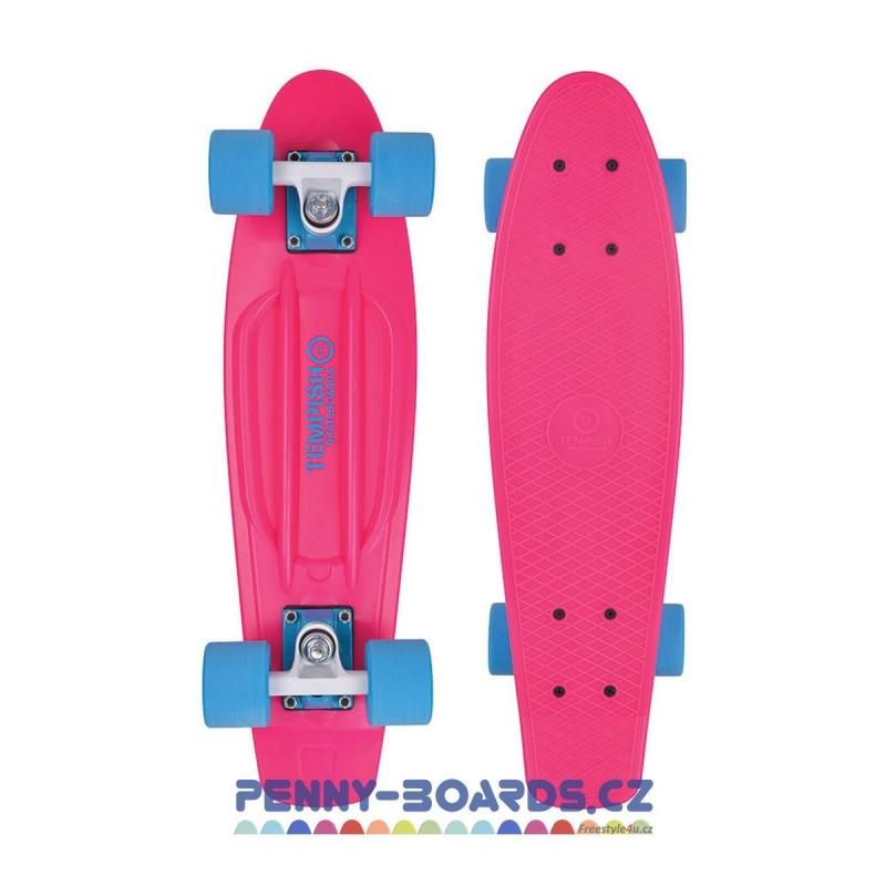 """Pennyboard TEMPISH BUFFY 2017 Pink 22,5"""" 57cm cruiser board"""