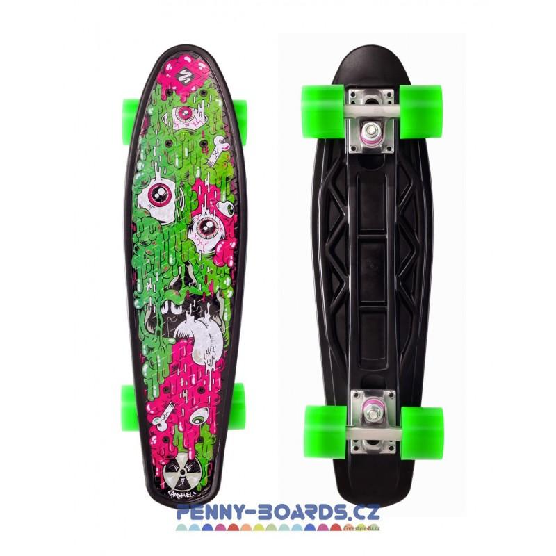 "Pennyboard STREET SURFING FUEL BOARD MELTING 22""|55cm Mini Cruiser"