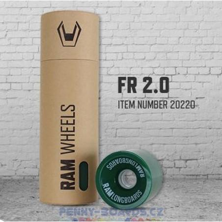 Kolečka pro longboard RAM FR 2.0 COMFREY | 75x58mm, sada 4ks