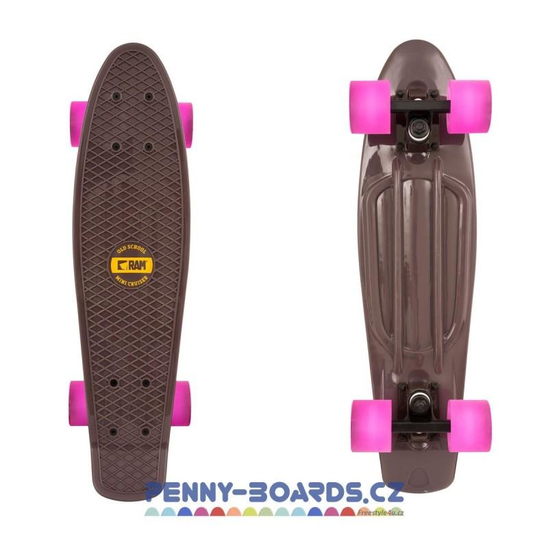 "Pennyboard RAM - RASPBERRY ROSE 22""|56cm Mini Cruiser Board"