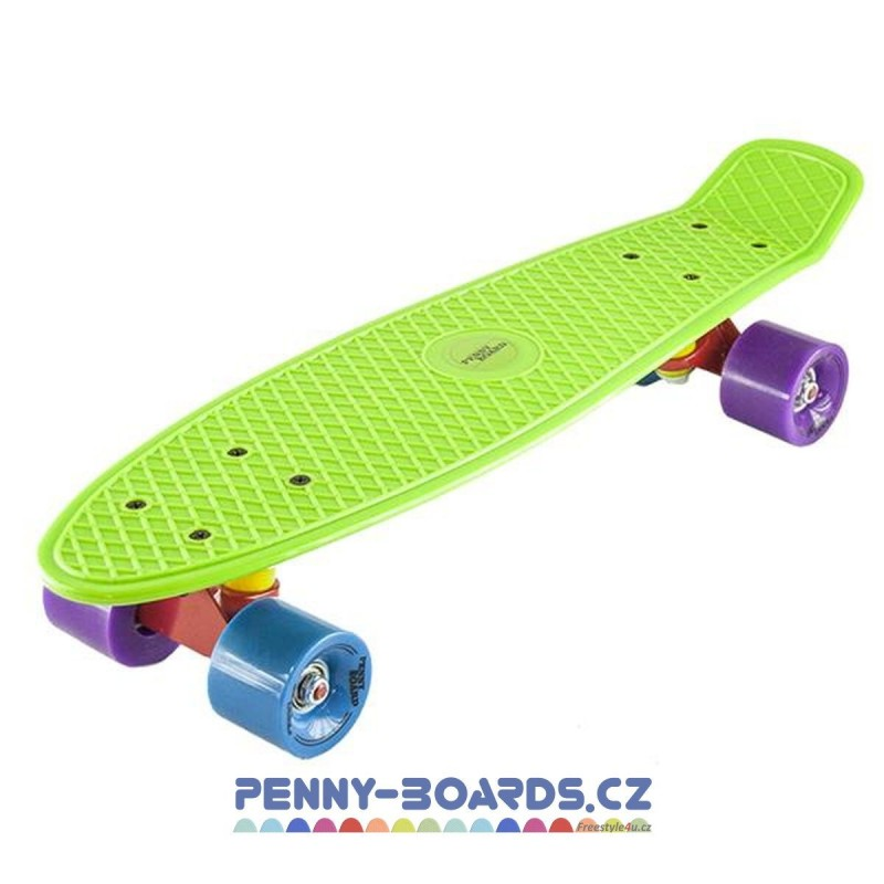 "Pennyboard NILS EXTREME BASIC GREEN board 22""|56cm Mini Cruiser"