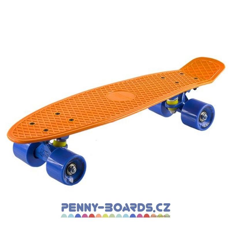 "Pennyboard NILS EXTREME ORANGE board 22""|56cm Mini Cruiser"